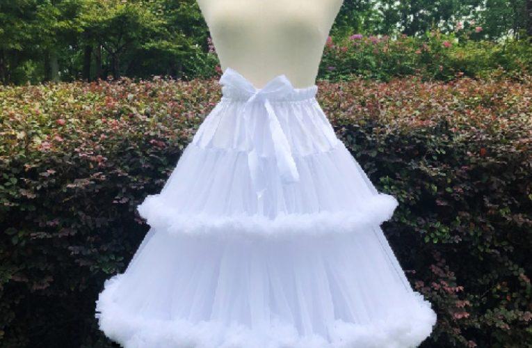 婚紗裙撐怎麼穿?