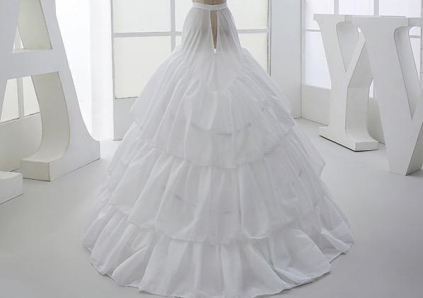 婚紗怎麼選一個合適的裙撐