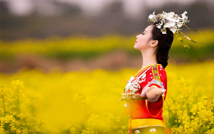 貴州小夫妻隴腳布依族鄉婚紗照