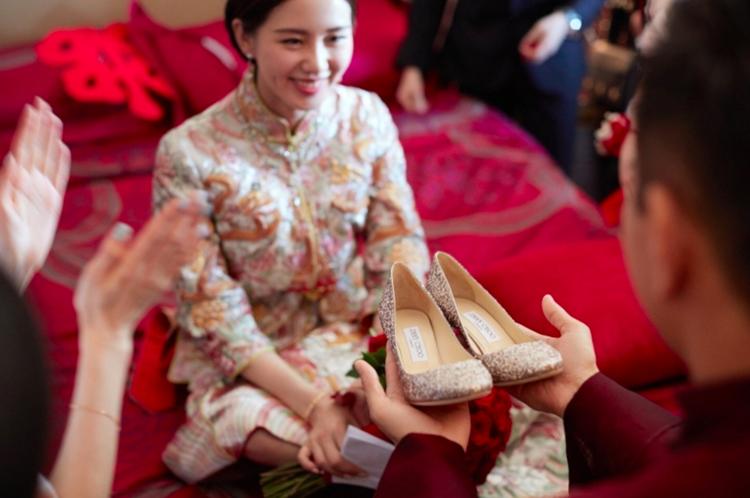 中式新娘妝圖片及畫法