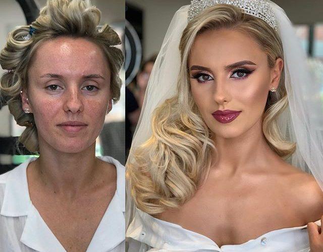 【新娘試妝】新娘妝前妝後兩個樣!外國新娘化妝師令暗瘡女生脫胎換骨!